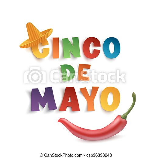 Cinco de mayo background. Cinco de mayo background template with ...