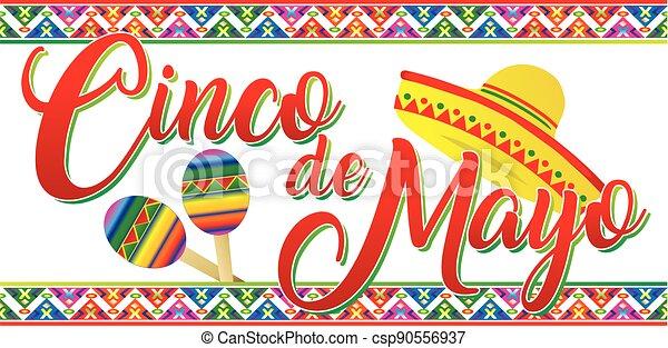 Cinco de Mayo banner - csp90556937