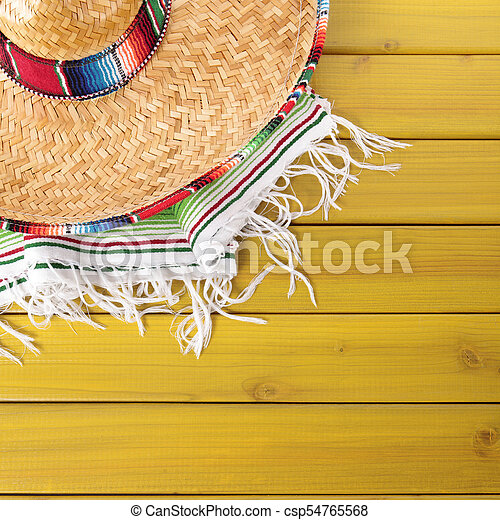 Cinco De Mayo Mexican Background Border