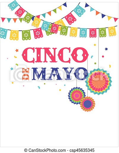 Cinco de mayo mexican fiesta banner and poster design with eps cinco de mayo mexican fiesta banner and poster design with flags decorations stopboris Image collections