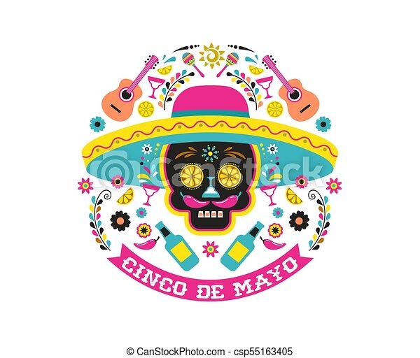 Cinco de mayo mexican fiesta holiday poster party flyer greeting cinco de mayo mexican fiesta holiday poster party flyer greeting card m4hsunfo
