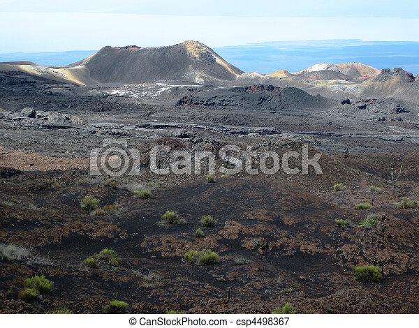 Cinder Cone on Sierra Negra - csp4498367