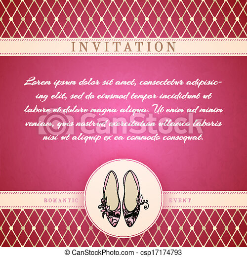Cinderella princess invitation template vector illustration cinderella princess invitation template csp17174793 stopboris Image collections
