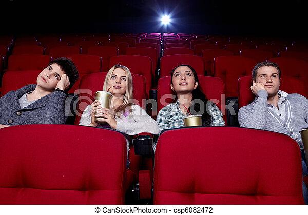 En el cine - csp6082472