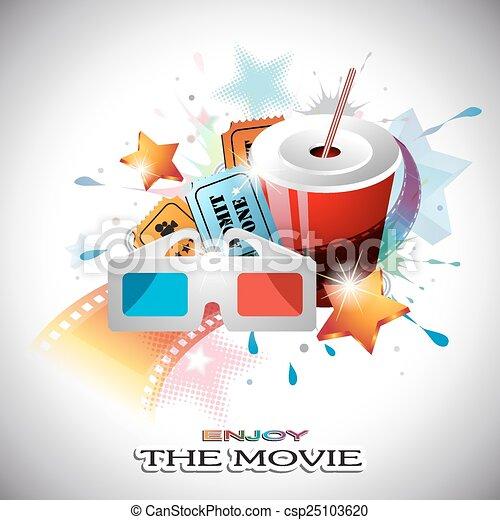 Cinema Design - csp25103620