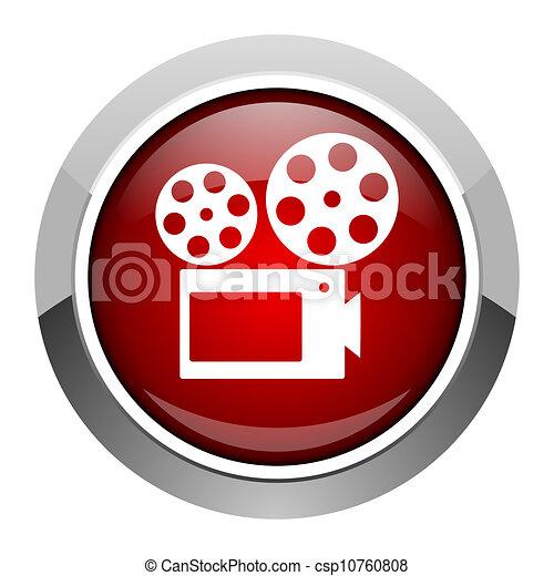 cinema icon - csp10760808