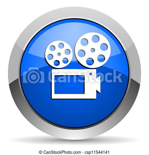 cinema icon - csp11544141