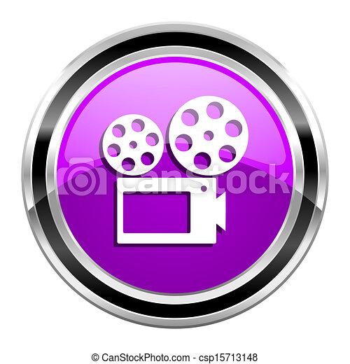 cinema icon - csp15713148