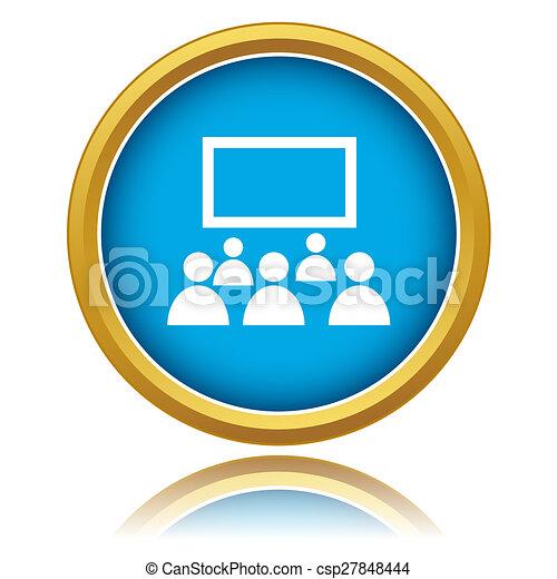 Cinema icon - csp27848444