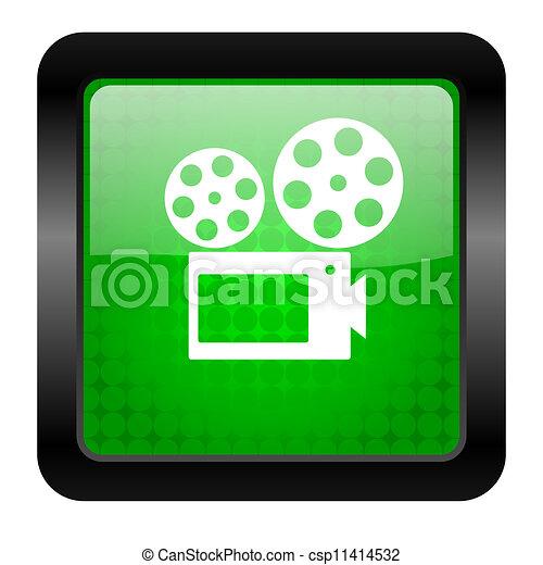 cinema icon - csp11414532