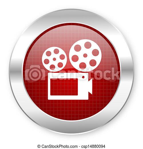 cinema icon - csp14880094