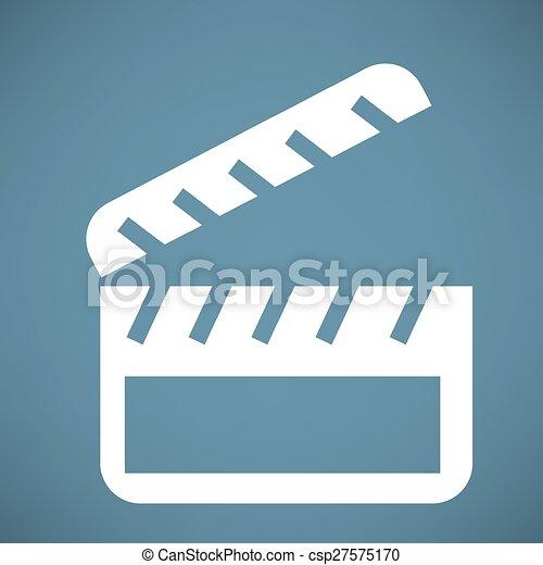 cinema icon - csp27575170