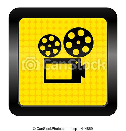 cinema icon - csp11414869