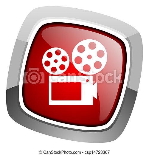 cinema icon - csp14723367