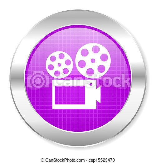 cinema icon - csp15523470