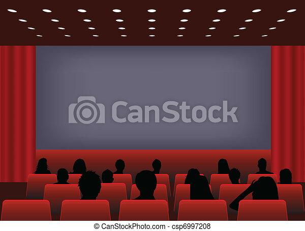 Cinema screening - csp6997208