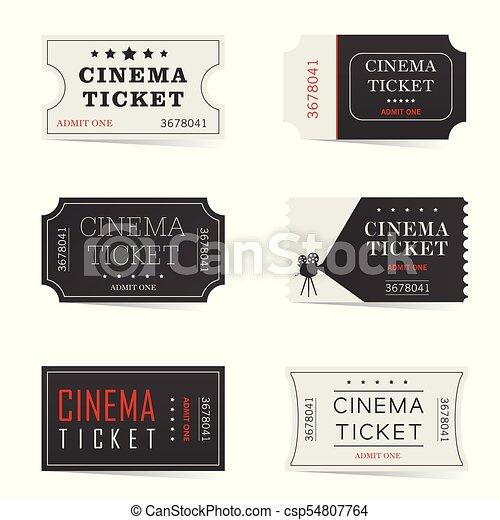 cinema ticket - csp54807764