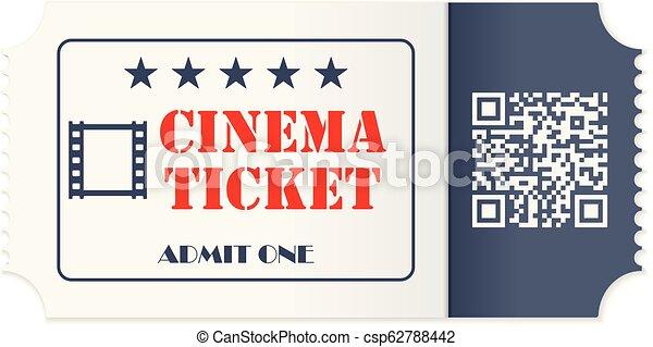 Cinema ticket - csp62788442