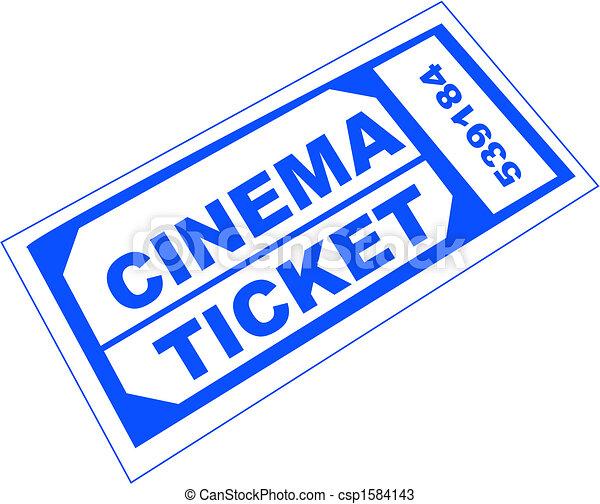 cinema ticket - csp1584143