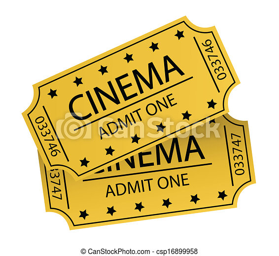 cinema tickets clipart vector search illustration drawings and rh canstockphoto ca movie tickets clipart movie ticket clipart template