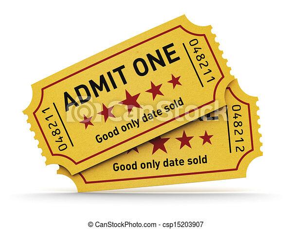 Cinema tickets - csp15203907