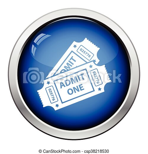 Cinema tickets icon - csp38218530