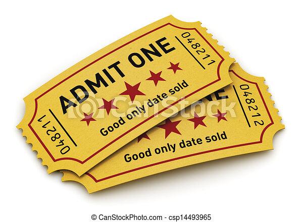 Cinema tickets - csp14493965