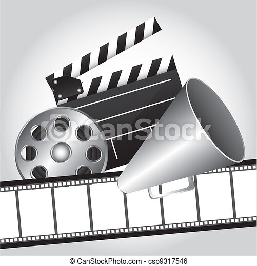 cinema vector - csp9317546