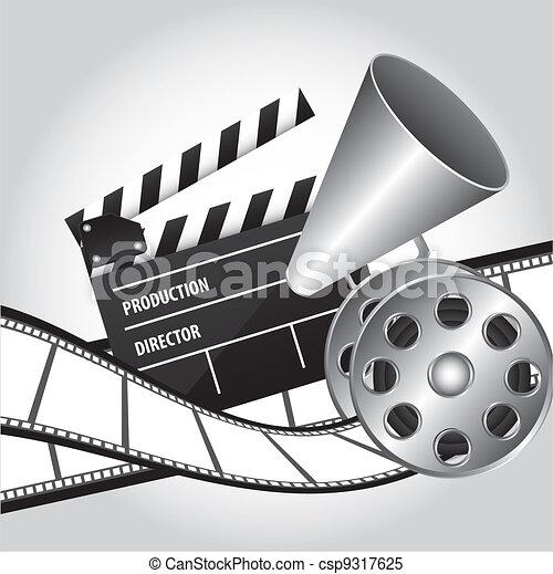 cinema vector - csp9317625