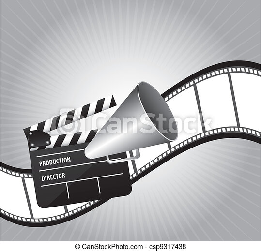 cinema vector - csp9317438