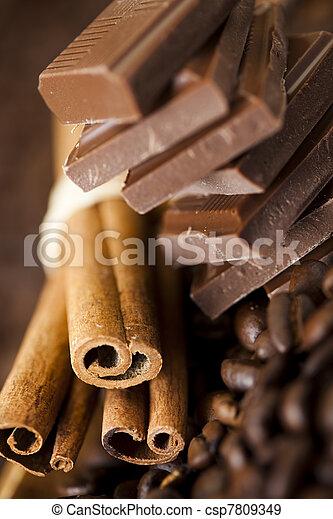 Cinnamon and Chocolate - csp7809349