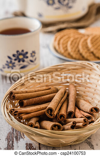 Cinnamon for Tea Time - csp24100753