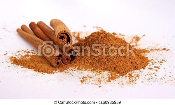 Cinnamon sticks, powder - csp0935959