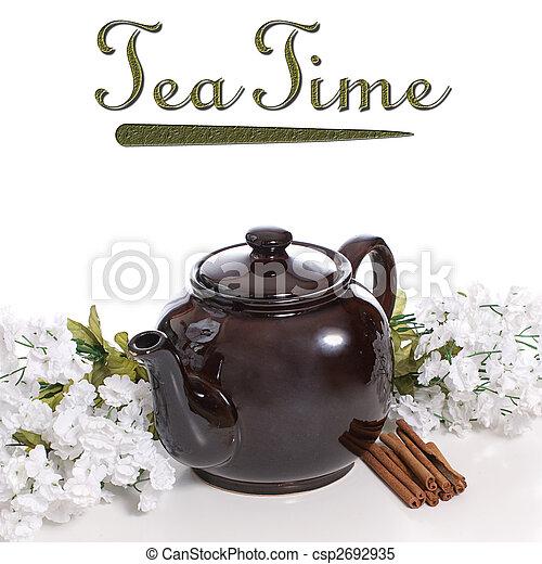 Cinnamon Tea - csp2692935
