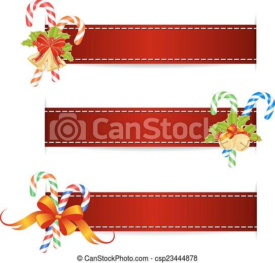 Cintas navidad Navidad vector cintas illustration decorations