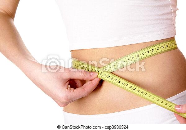 cintura medição - csp3930324