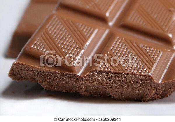 cioccolato, tentazione - csp0209344