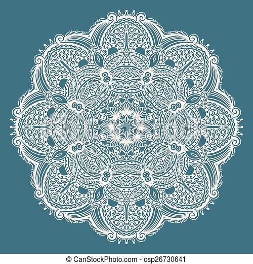 Mandala circle decorative spiritual indian symbol of lotus flower circle decorative spiritual indian symbol of lotus flower csp26730641 mightylinksfo