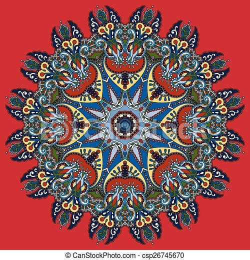Mandala circle decorative spiritual indian symbol of lotus flower circle decorative spiritual indian symbol of lotus flower csp26745670 mightylinksfo