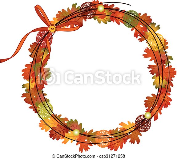 Circle Fall Frame - csp31271258