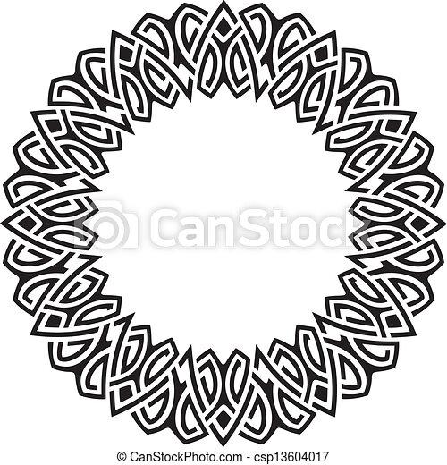 circle frame - csp13604017