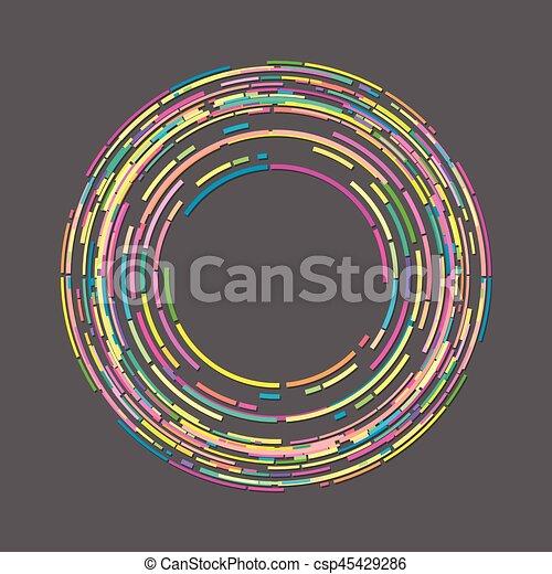 Circle Graphics art - csp45429286