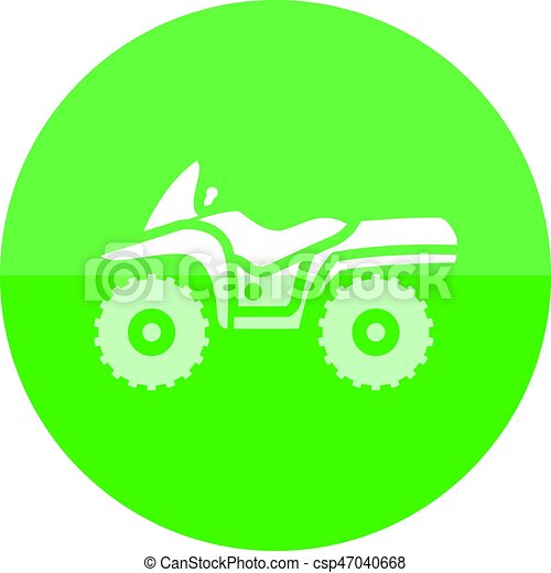 Circle icon - All terrain vehicle - csp47040668