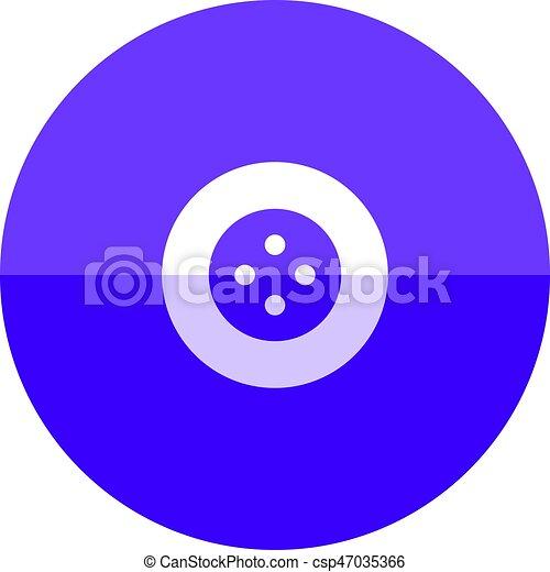 Circle icon - Button - csp47035366