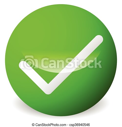 Circle with tick, check mark symbol  Approve, correct, accept, right,  validation icon