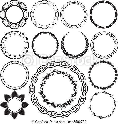 Anillos y círculos - csp8500730