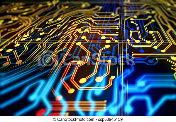 Abstract circuit background. technology and computer... stock images ...