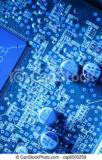 Circuit board abstract background - csp6505259