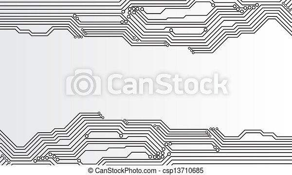 Circuit board background - csp13710685
