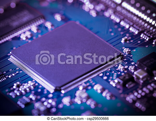 Circuit board background - csp29500666
